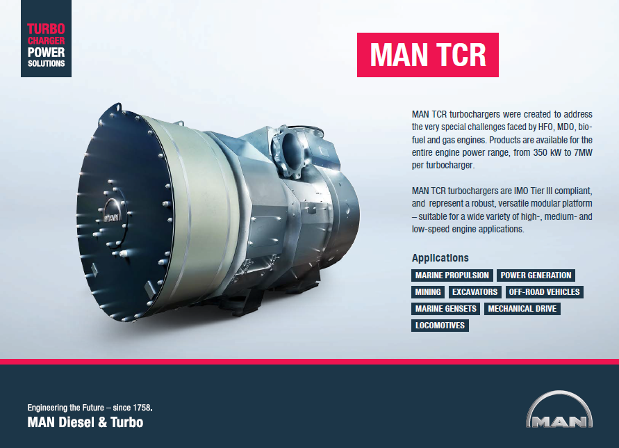 tcr product fact sheet